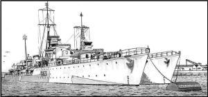 destroyers au mouillage 3