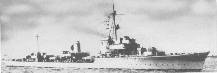destroyer de la classe Narvik