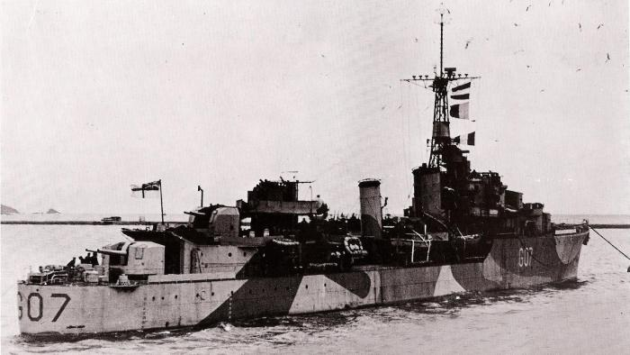 HMCS Athabaskan 11