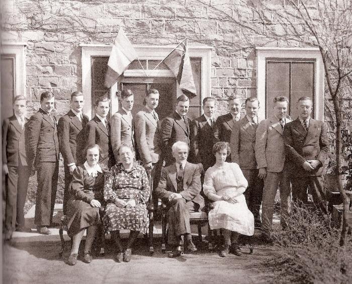famille de Lacasse Rousseau et Gabrielle Fafard
