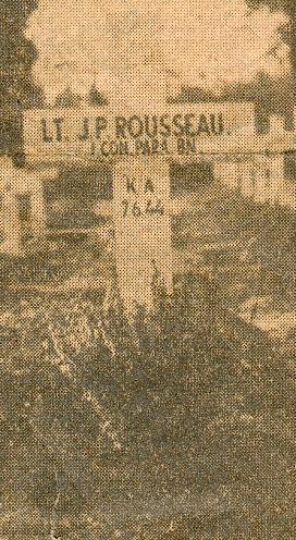 Tombe provisoire de PhilippeRousseau