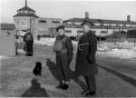 Trois-Rivières Parc exposition entrée du camp militaire 1942