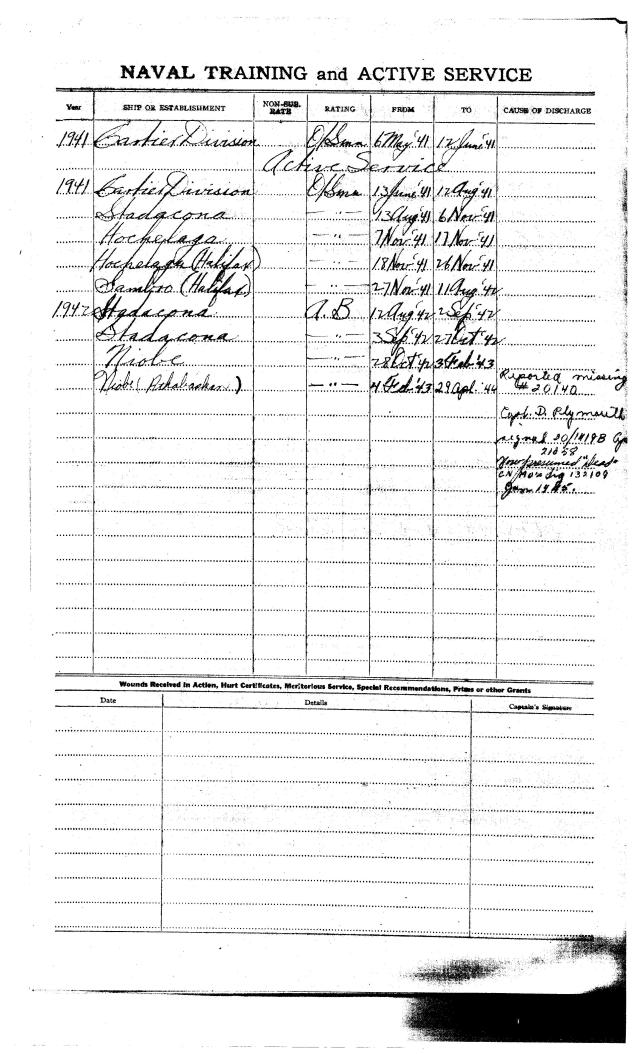 Certificate of Service page 2