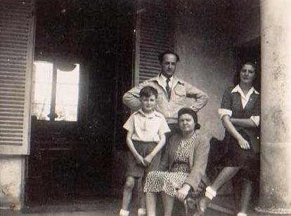 Famille Ripoll 6 juin 1946