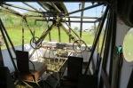 vue intérieure du poste de pilotage d'un planeur américain