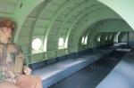 vue intérieure d'un planeur Horsa