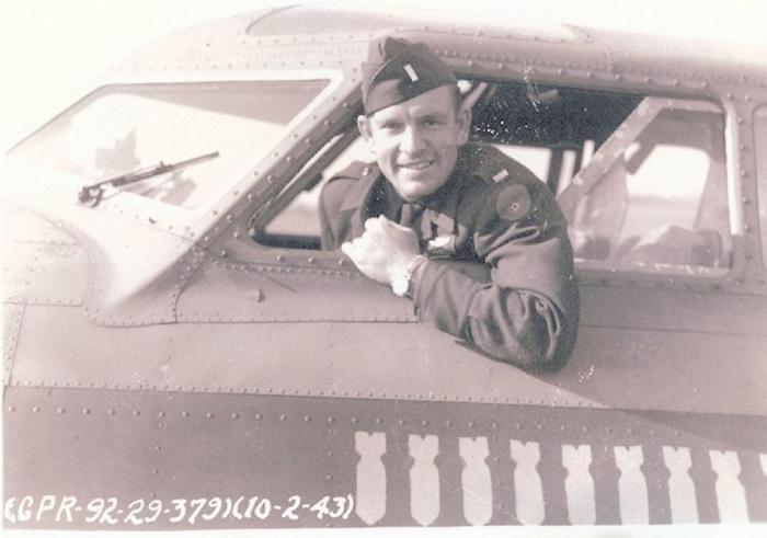 Lt. Wooldridge in B-17