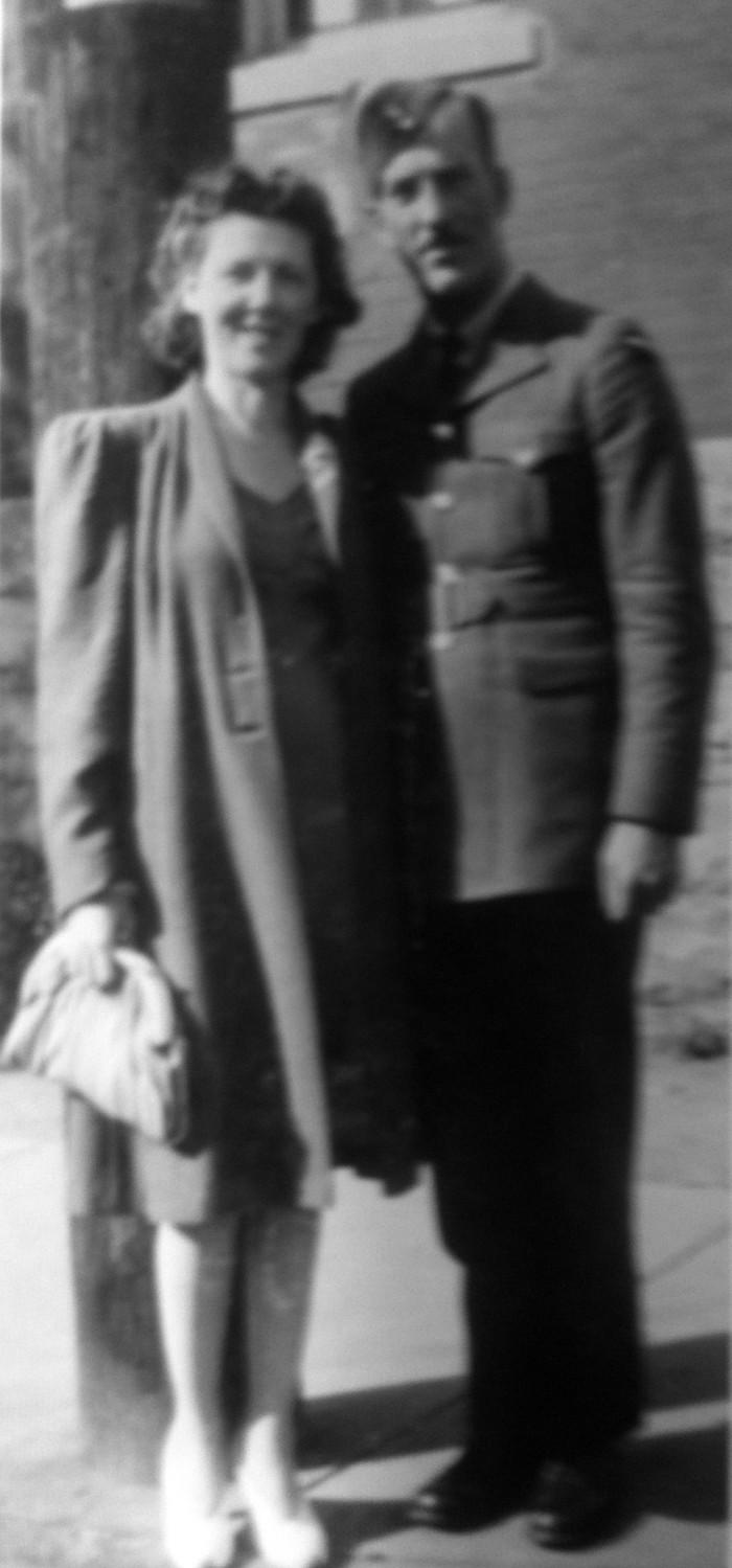 Albert et son épouse