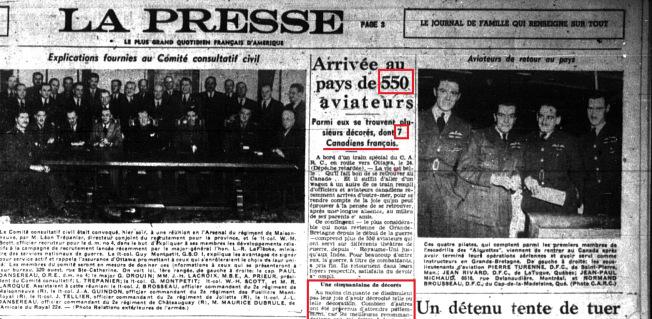 La Presse Novembre 1944