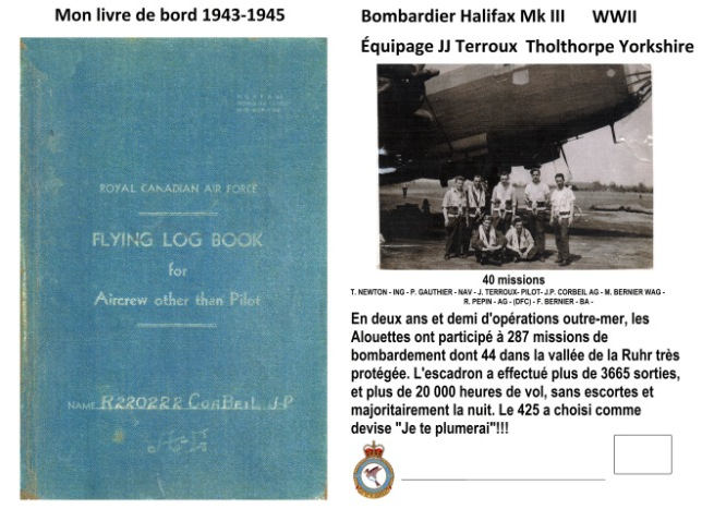 document JP Corbeil planche recto