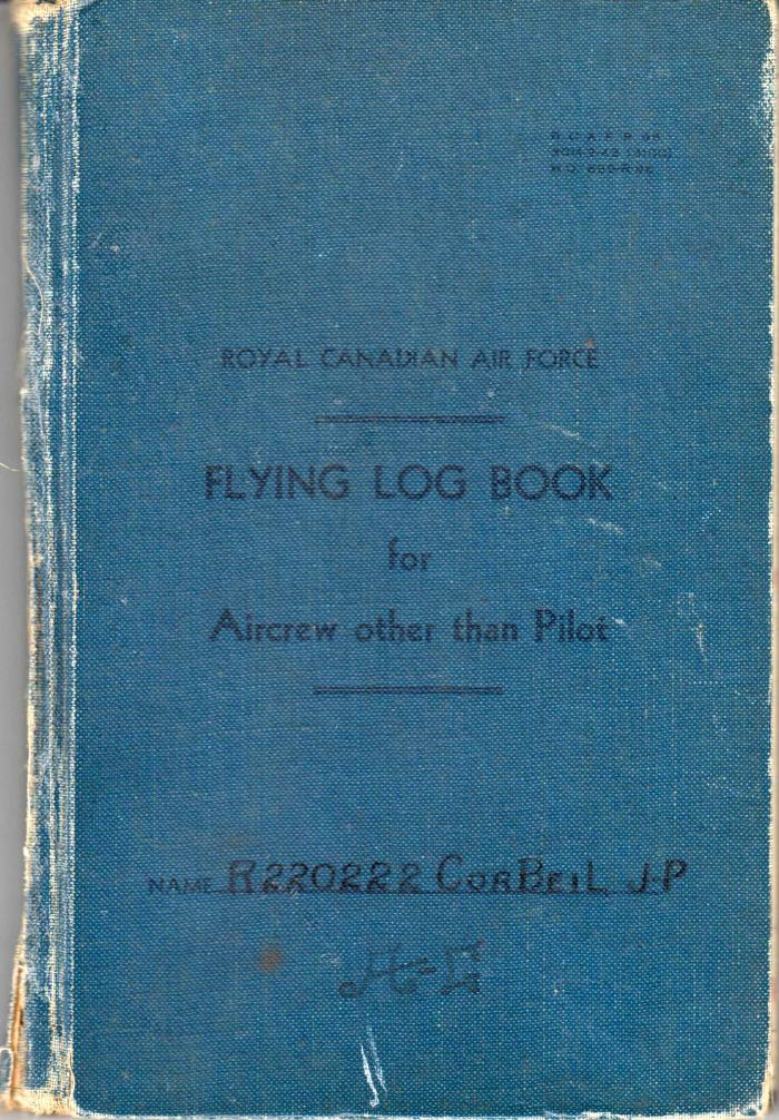 logbook Jean-Paul Corbeil 001