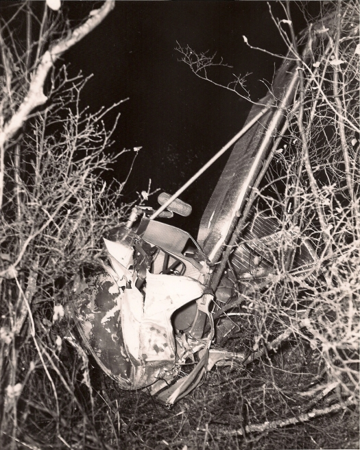 Eugene Gagnon crash