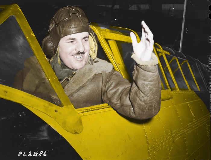 Profil de courage – Bataille d'Angleterre : le lieutenant-colonel d'aviation Jean-Paul JosephDesloges