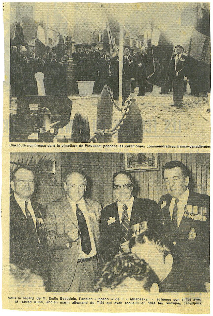 Journée commémorative franco-canadienne