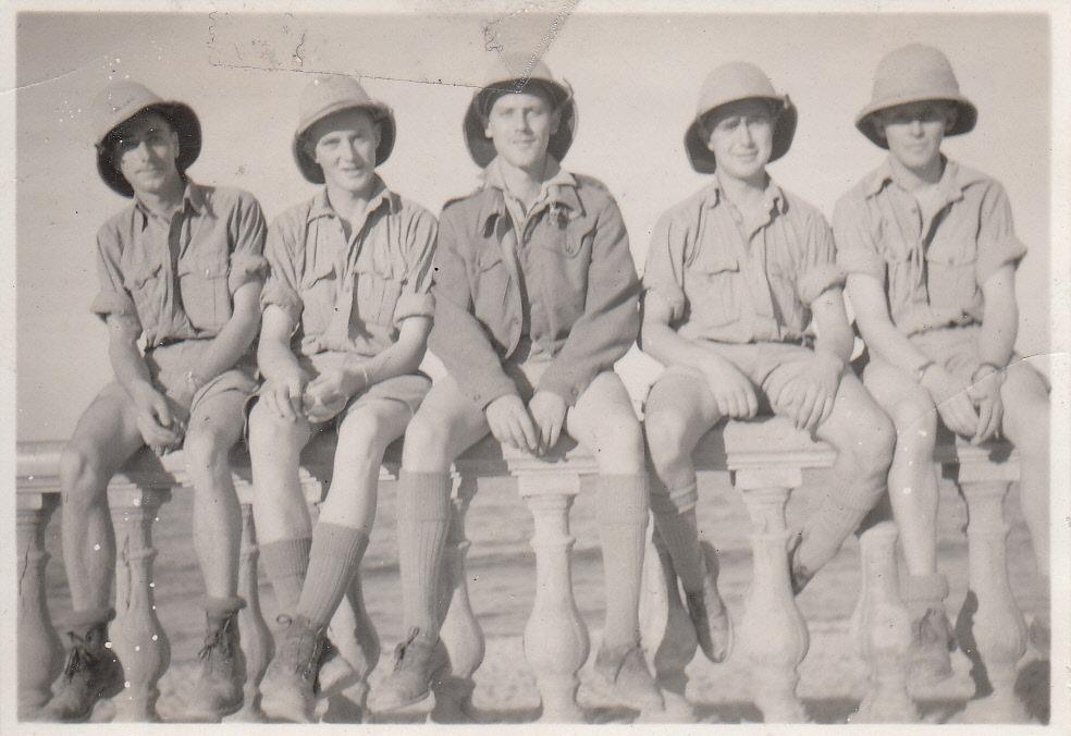 crew North Africa