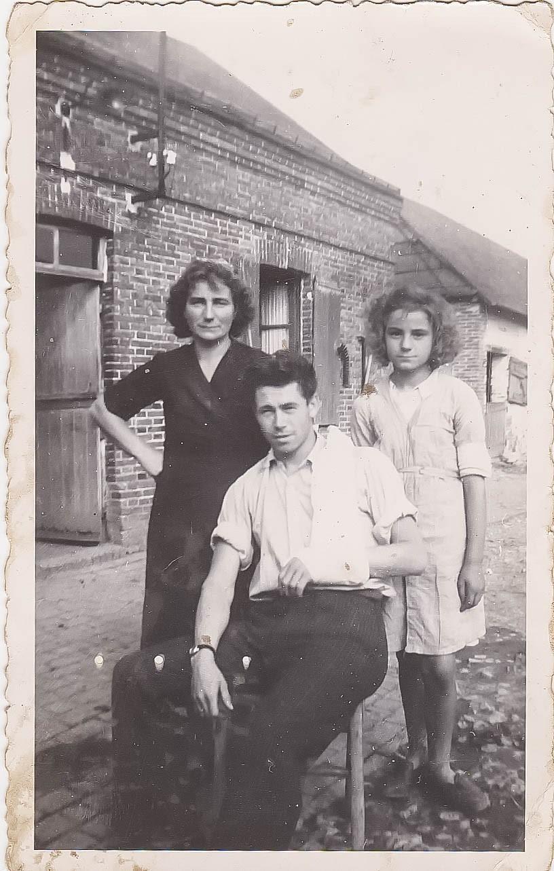 famille Glanard août 1944